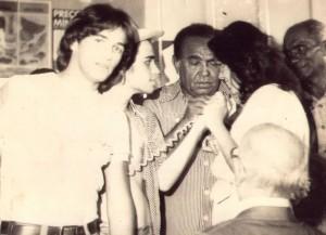 Eu entrevistando Luiz Gonzaga em 14/10/78