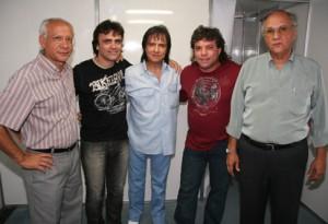 Ednaldo Santos, Eu, Roberto, Augusto César e ...