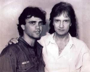 Eu e Roberto Carlos, em 1999.