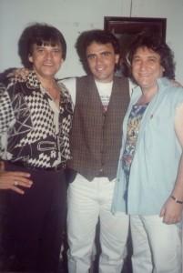 Adilson Ramos, Ricardo Braga e eu
