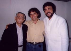 Miltinho, Luís Ayrão e eu.